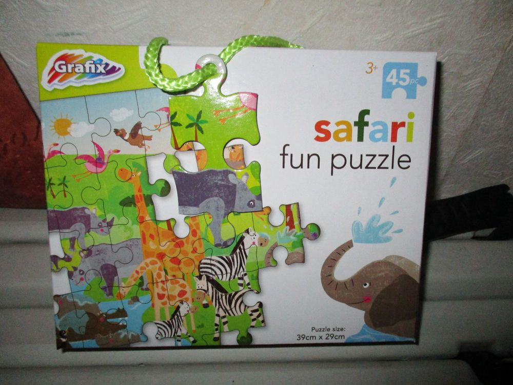 45pc Safari Fun Puzzle - Grafix