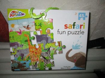 45pc Safari Fun Jigsaw Puzzle - Grafix