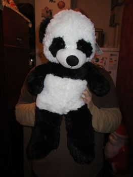 Large Black White Panda - Ostoy