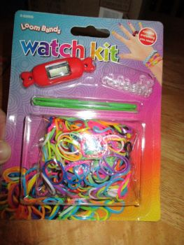Red Loom Band Watch Kit - Contains Everything You Need