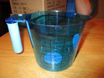 Blue Colour Collection 1L Plastic Measuring Jug