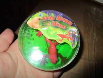 Red Frog - Frog Spawn Slime Toy - HGL