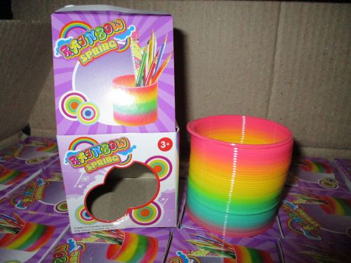 Stretchy Rainbow Spring Toy