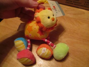 Lion Baby Rattle - Cute And Cuddly - Bear