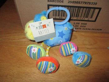 Cow Baby Rattle - Cute And Cuddly - Bear