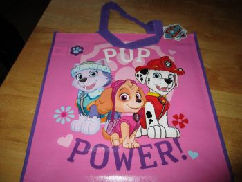 Pup Power Paw Patrol Licensed Shopping Bag - Bag For Life