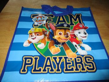 Team Players Paw Patrol Licensed Shopping Bag - Bag For Life