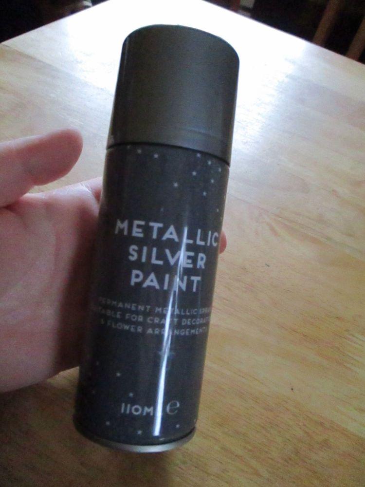 Silver Metallic Spray Paint 110ml