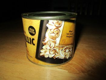 Gold High Lustre Paint 180ml OOD