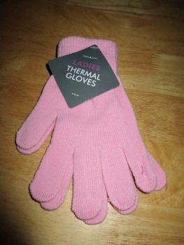 Pink Ladies Thermal Gloves