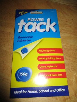 Power Tack - 150g Re-usable Adhesive