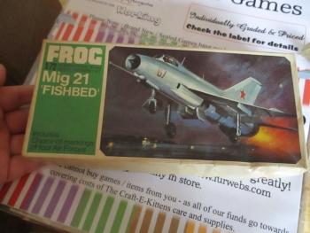 Mig 21 Fishbed 1:72 Series Frog