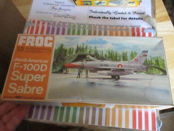 North American F-100D Super Sabre 1:72 Series Frog