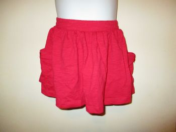Red Stretchy Skirt - Size 12-18 Months - Florence & Fred