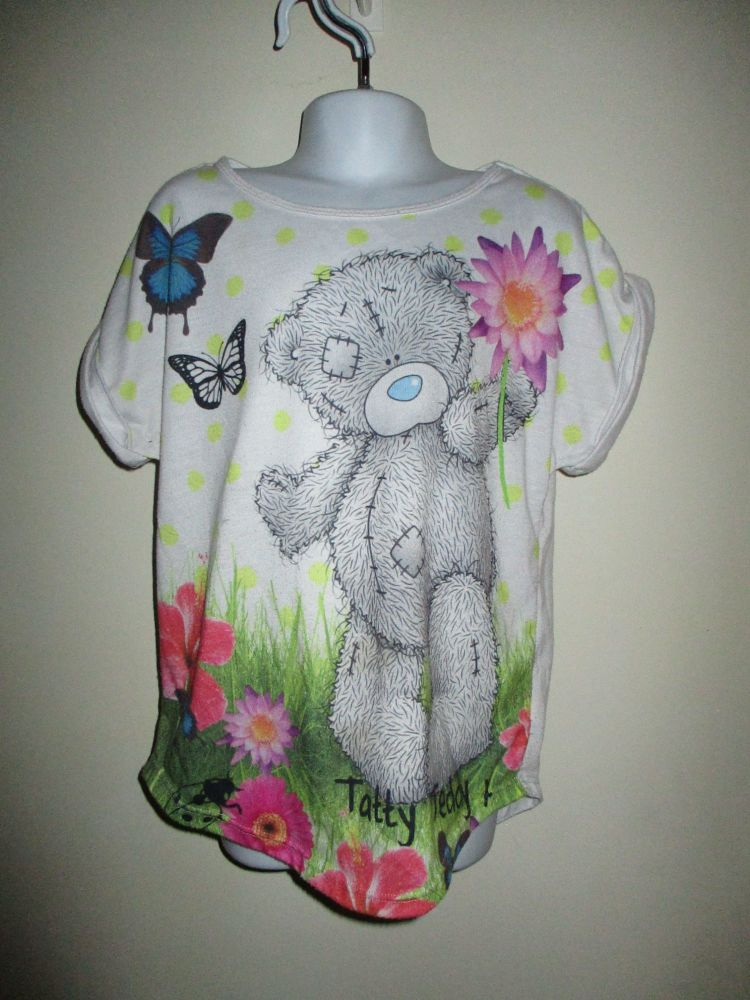 Me To You Blue Nose Friends Tatty Teddy T-Shirt Size 9-10yrs