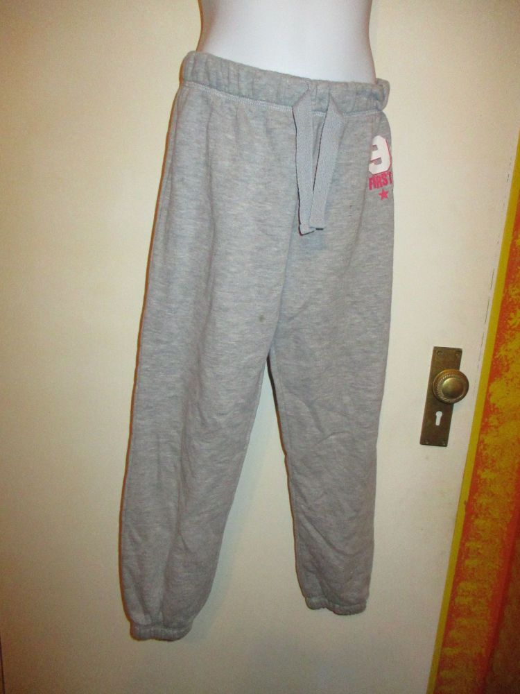 Love Me Wear Me Grey Elasticated Trousers 8/9yrs - Matalan