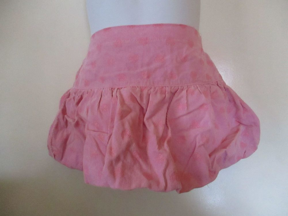 Pink With Hearts RuffledSkirt - 12-18 Months - Cherokee