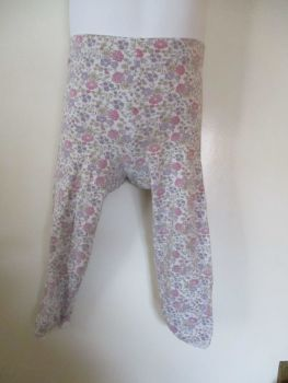 Florence & Fred Est 18-24 Months Purple Pink Floral Leggings