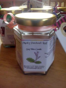 Musky Patchouli Leaf Scented Soy Wax Candle 300g