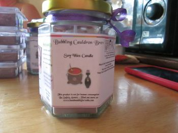 Bubbling Cauldron Brew Scented Soy Wax Candle 300g