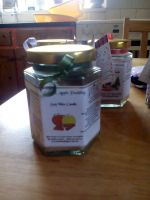 Spiced Apple Pudding Scented Soy Wax Candle 300g