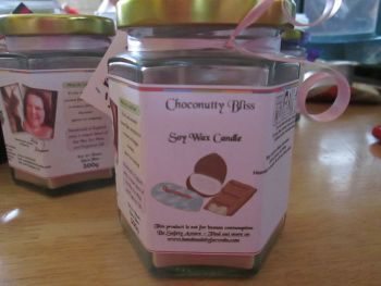 Choconutty Bliss Scented Soy Wax Candle 300g