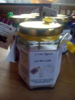 Cream Liqueur Scented Soy Wax Candle 300g