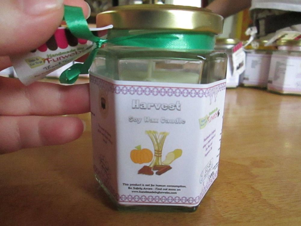 Harvest Scented Soy Wax Candle 300g