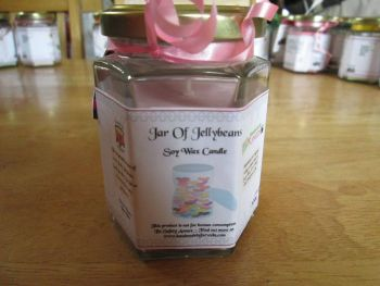 Jar Of Jellybeans Scented Soy Wax Candle 300g