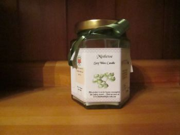 Mistletoe Scented Soy Wax Candle 300g