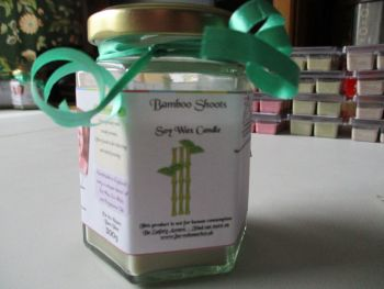 Bamboo Shoots Scented Soy Wax Candle 300g