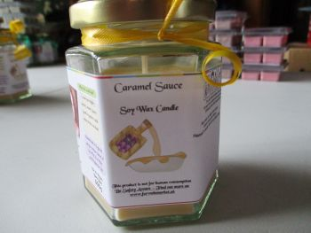 Caramel Sauce Scented Soy Wax Candle 300g