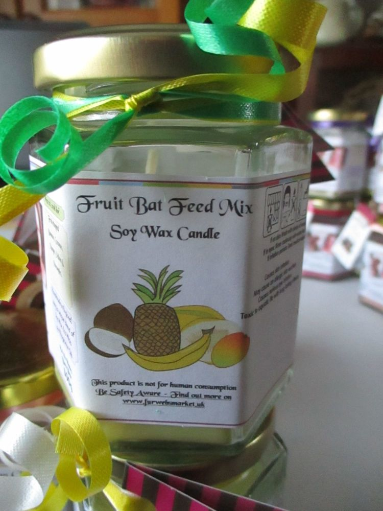 Fruit Bat Feed Mix Scented Soy Wax Candle 300g