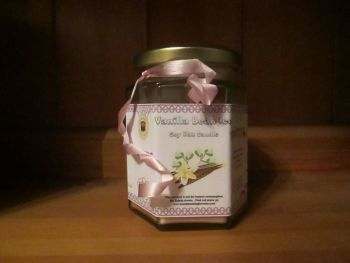 Vanilla Bean Ice Scented Soy Wax Candle 300g
