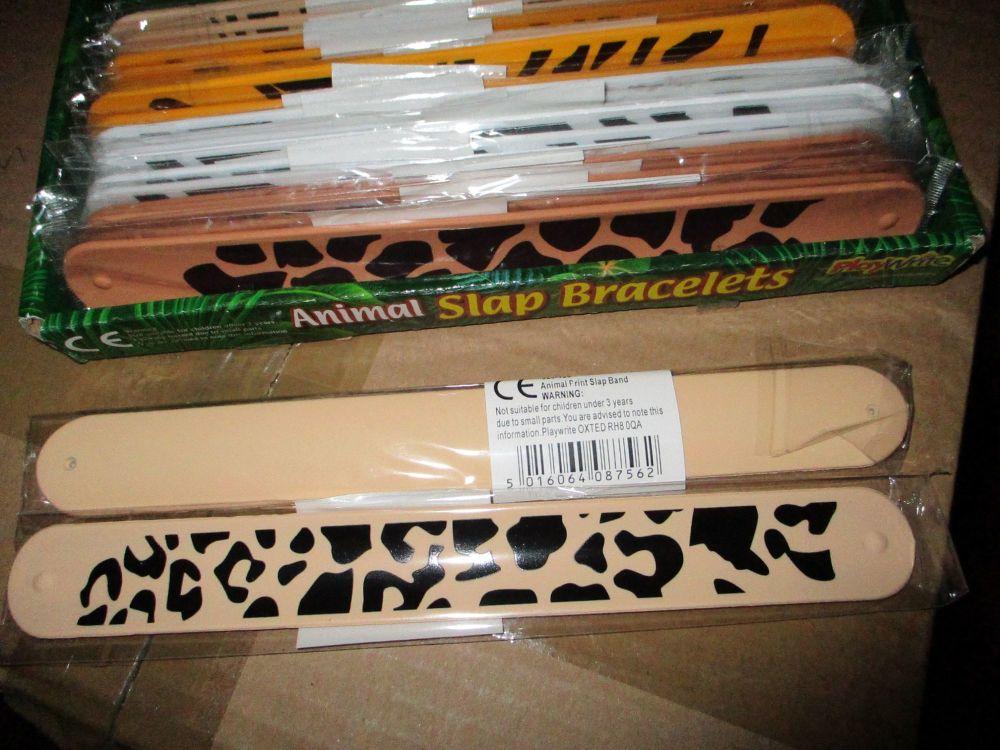 Leopard Spots - Animal Snap Band Bracelet - Playwrite