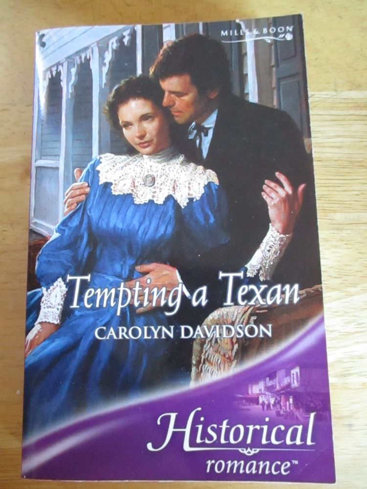 Historical Romance - Tempting A Texan - Mills & Boon