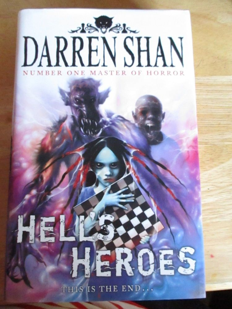 Darren Shan - Hells Heroes - Hardback - Artistic Cover