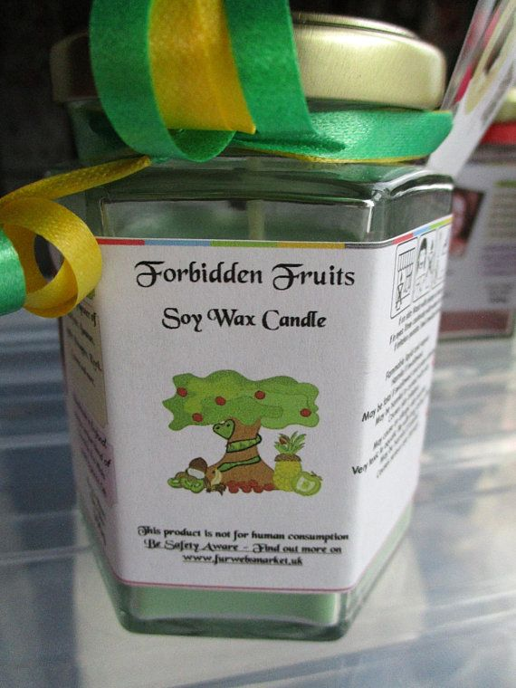 Forbidden Fruits Scented Soy Wax Candle 300g
