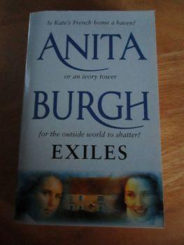 Anita Burgh - Exiles - Paperback