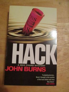 "John Burns - Hack ""A Max Chard Mystery"" - Paperback"