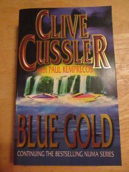 Clive Cussler - Blue Gold - Paperback
