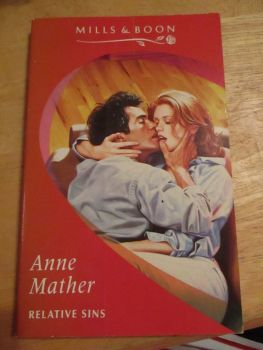 Anne Mather - Mills & Boon - Relative Sins - Paperback