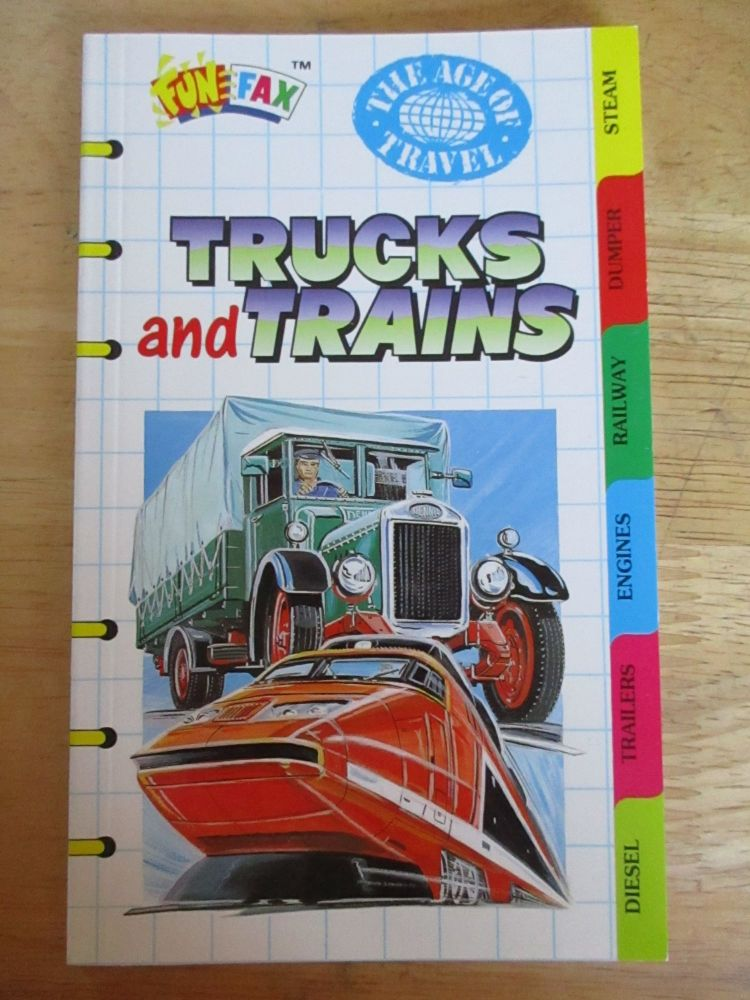 FunFax #73 - Trucks And Trains - Paperback