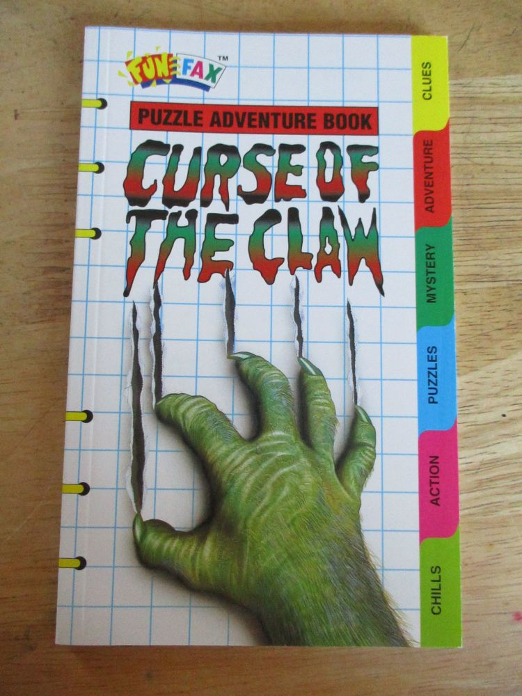 FunFax #109 - Curse Of The Claw - Paperback
