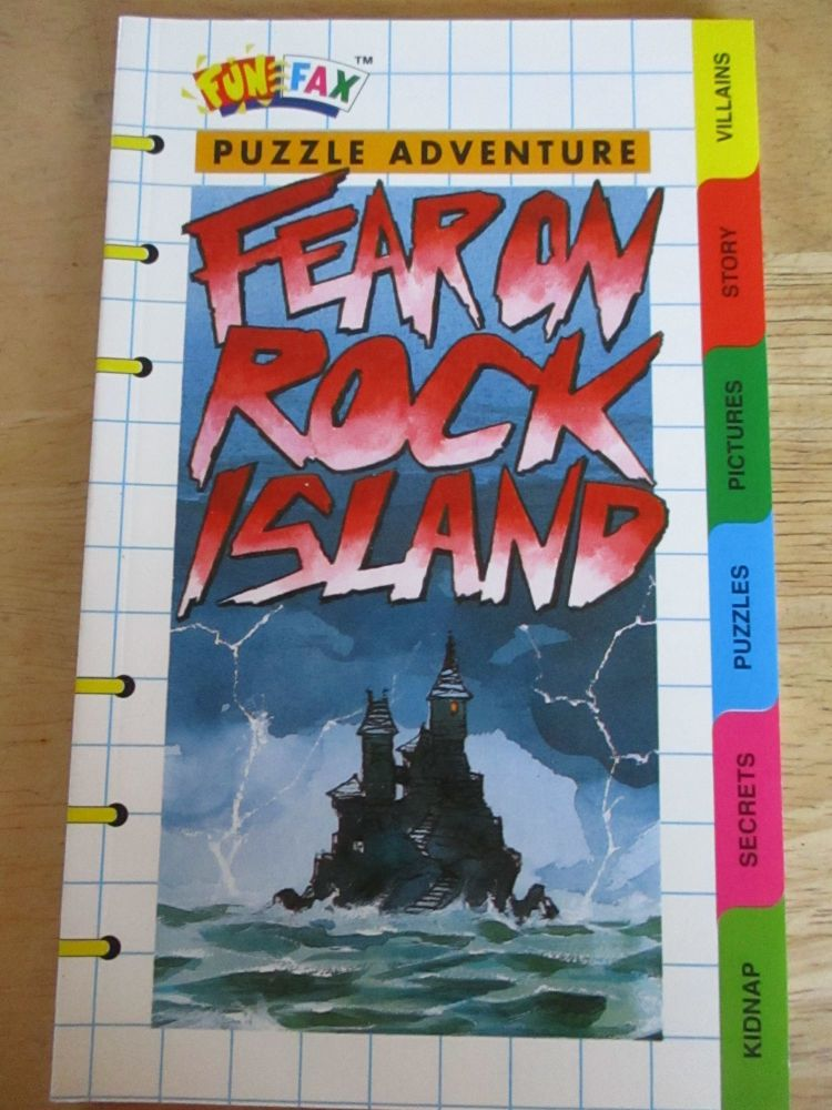 FunFax #147 - Fear On Rock Island - Paperback
