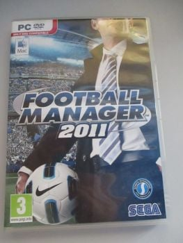 Football Manager 2011 - PC DVD & Mac Game