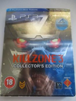 Killzone 3 Collectors Edition Steelbook - PS3 Playstation 3 Game
