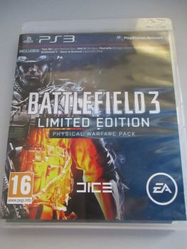 Battlefield 3 Limited Edition Physical Warfare Pack - PS3 Playstation 3 Game