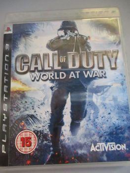 Call Of Duty World At War - PS3 Playstation 3 Game