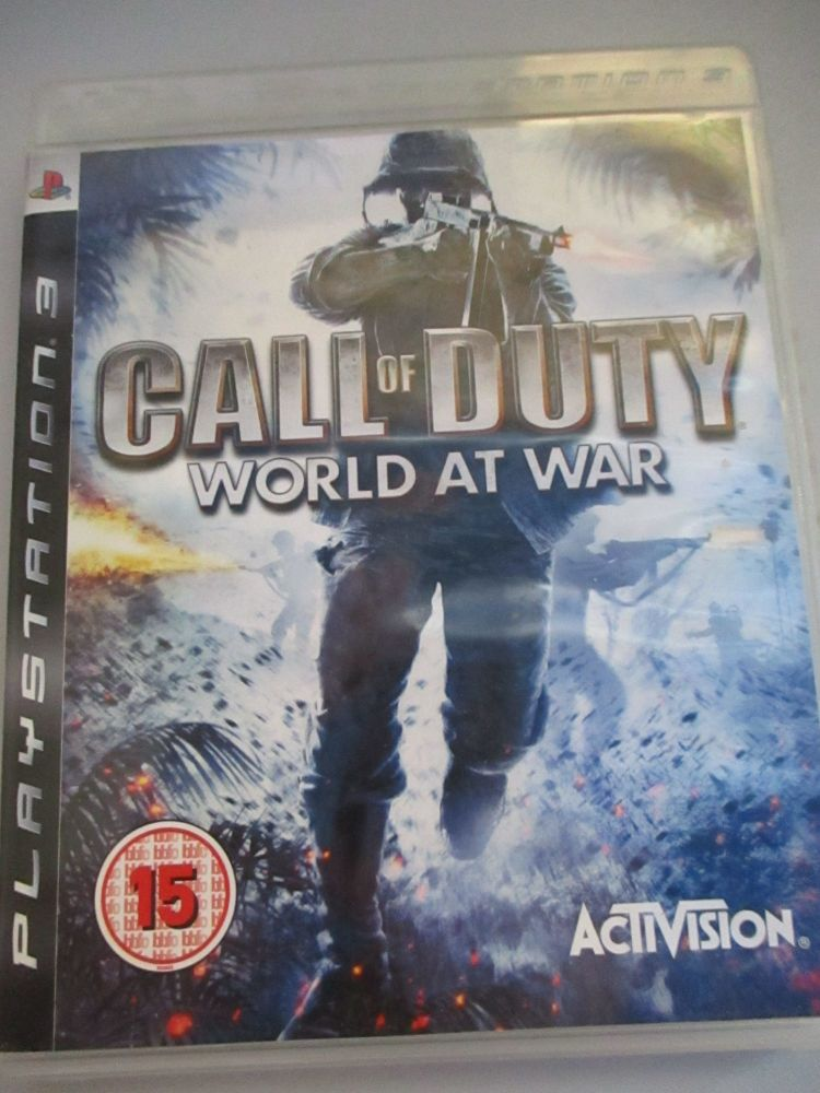 Call Of Duty World At War - PS3 Playstation 3 Game